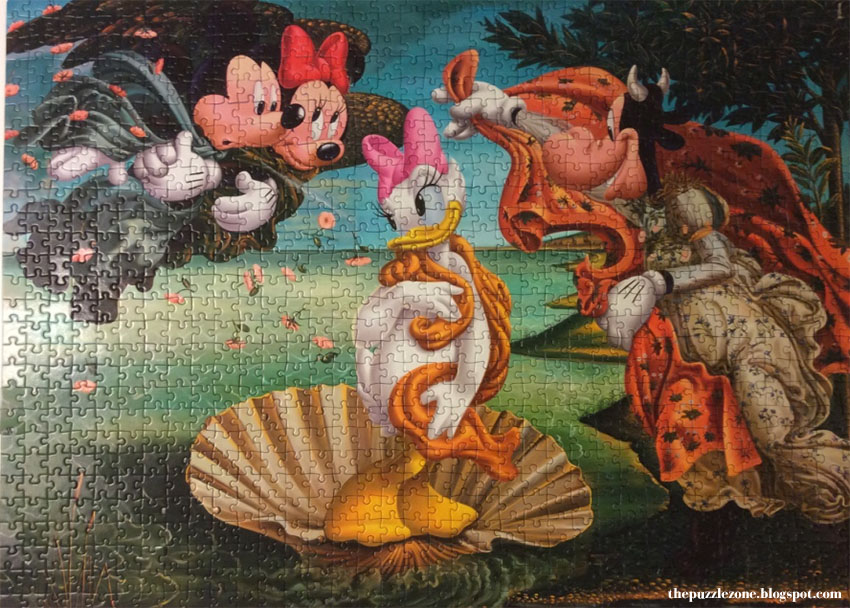 Clementoni Birth Of Daisy Disney Jigsaw Puzzle 1000 Pieces Review
