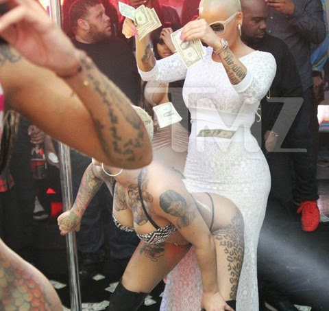 hawt talk with tosan amber rose and bff blac chyna party