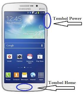 Cara Mengambil Gambar Layar HP Samsung