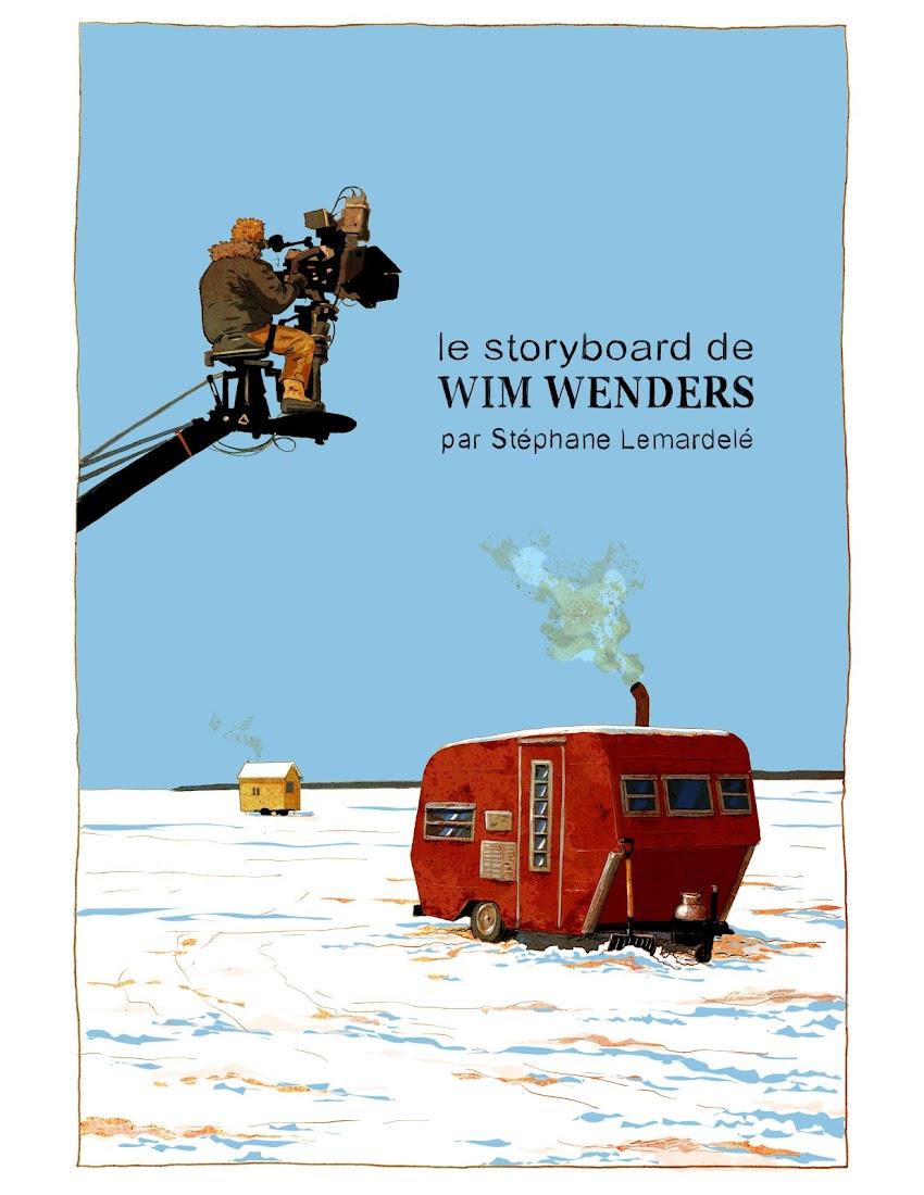 """""""Le storyboard de Wim Wenders"""""""