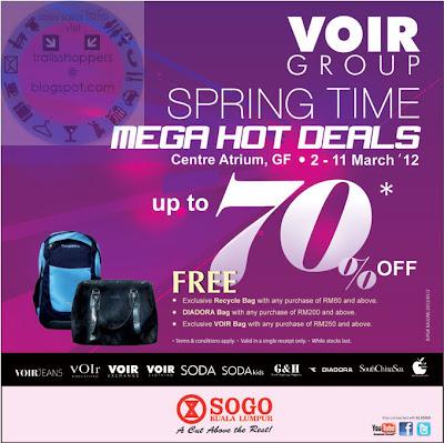 VOIR-Spring-Time-Hot-Deals-Sale