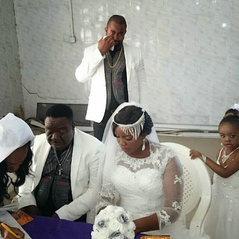 Nigerian Actor John Okafor Finally Weds His Babymama, Stella Maris (See Photos)
