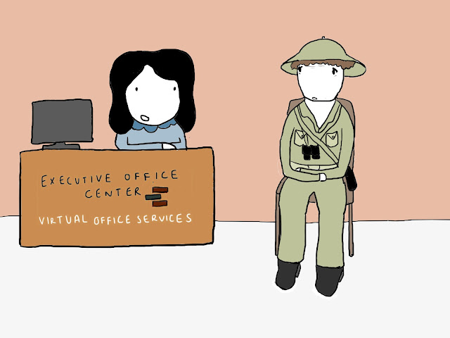 Virtual Office Services, locations around the globe