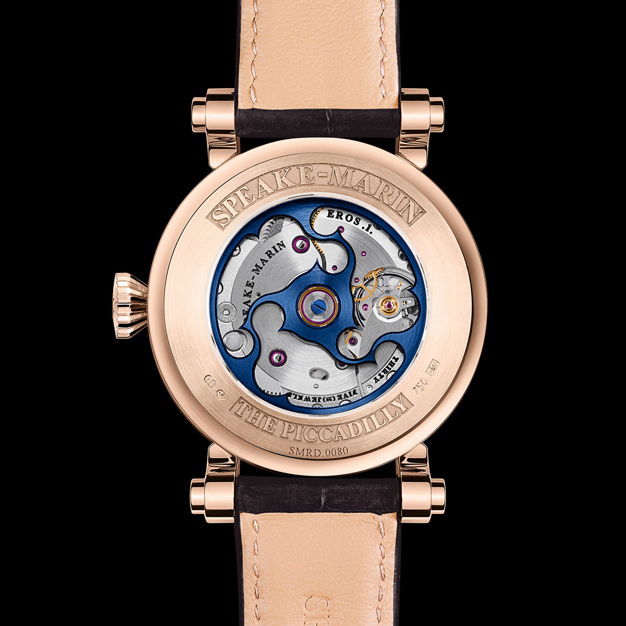 Speake-Marin Diamond Resilience Automatic Watch back