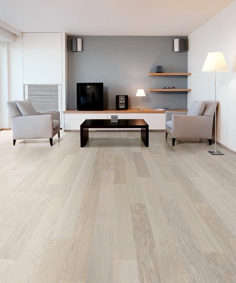 White Oak Grey Wood Flooring
