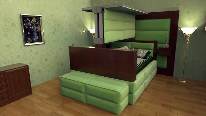 tempat tidur shelter tahan gempa