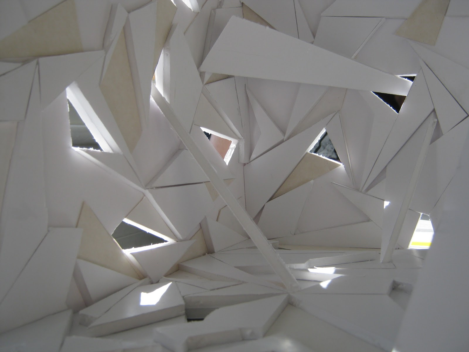 Cdva 2011 origami and abstraction within interior design for Architecture origami