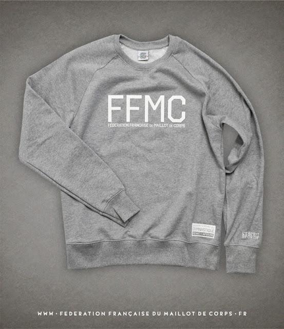 ©Federation Francaise du Maillot de Corps Sweater LA FEDE GYMNASTIQUE #1