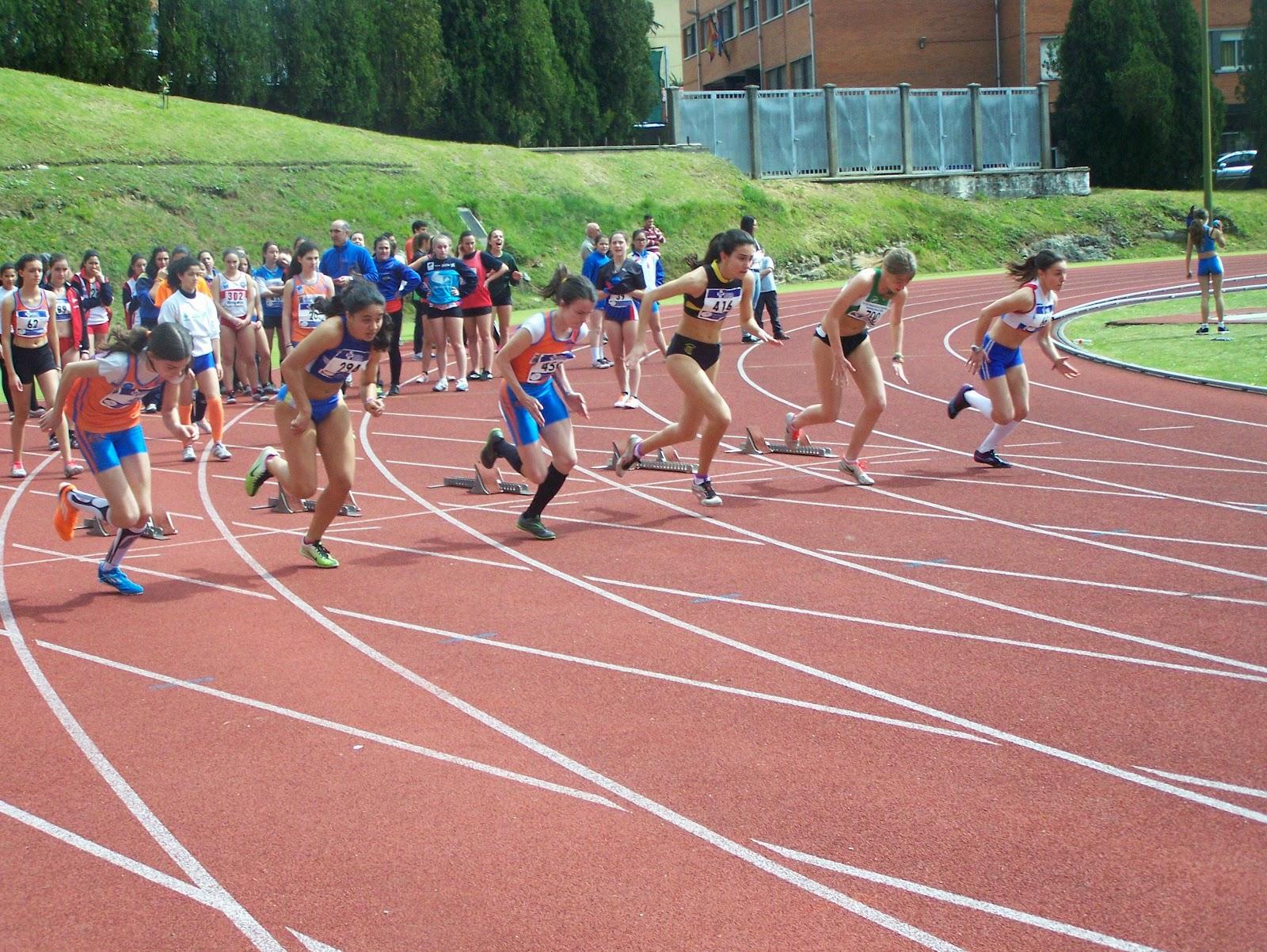 Gijon atletismo jornada clasificatoria de infantiles y for Piscinas san lazaro oviedo