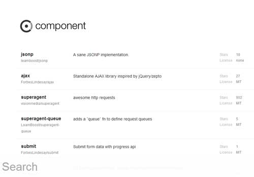 ComponentJS ~ 43 Useful and Time Saving Web Development Kits and Frameworks