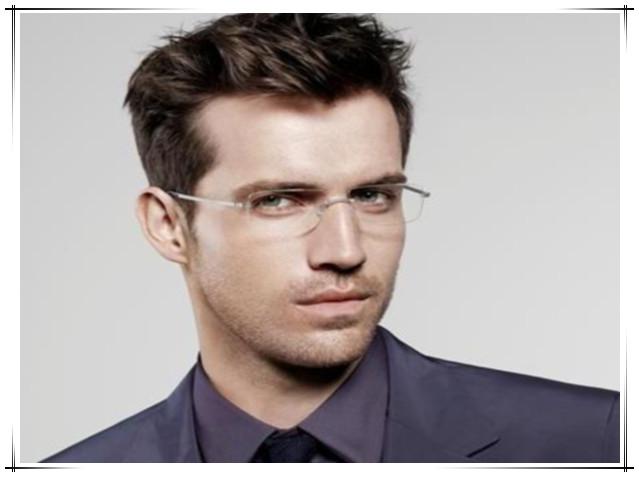 Rimless Glasses Men S Cool Reading Glasses   2014 Trending