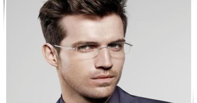 stylish frames for mens glasses  Rimless Glasses-Men\u0027s Cool Reading Glasses 锝� 2014 Trending