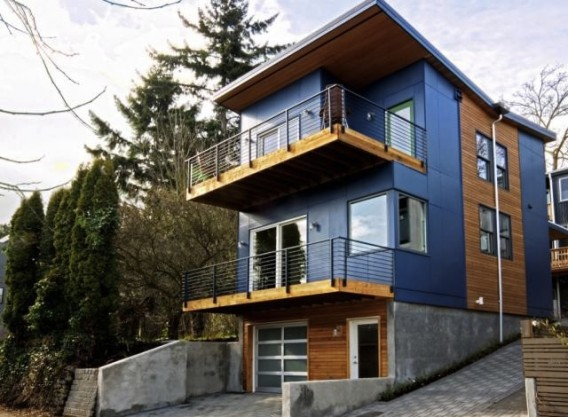 Seattle Alley House Aims For Leed Platinum Interior Home