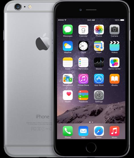 Мобильный телефон Apple iPhone 6 Plus 128 Гб Space Grey современный удобный качественный сотовый мобильный телефон с хорошим набором функций и большой надежностью