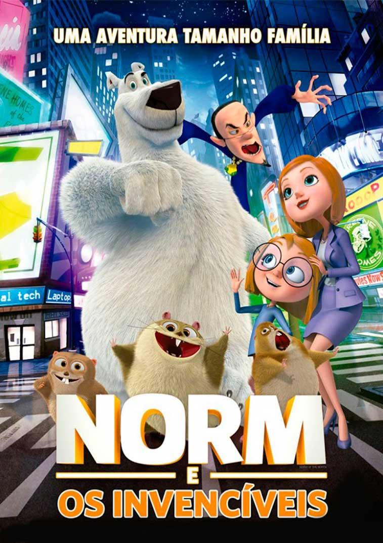 Norm e os Invencíveis Torrent - Blu-ray Rip 720p e 1080p Dublado (2016)