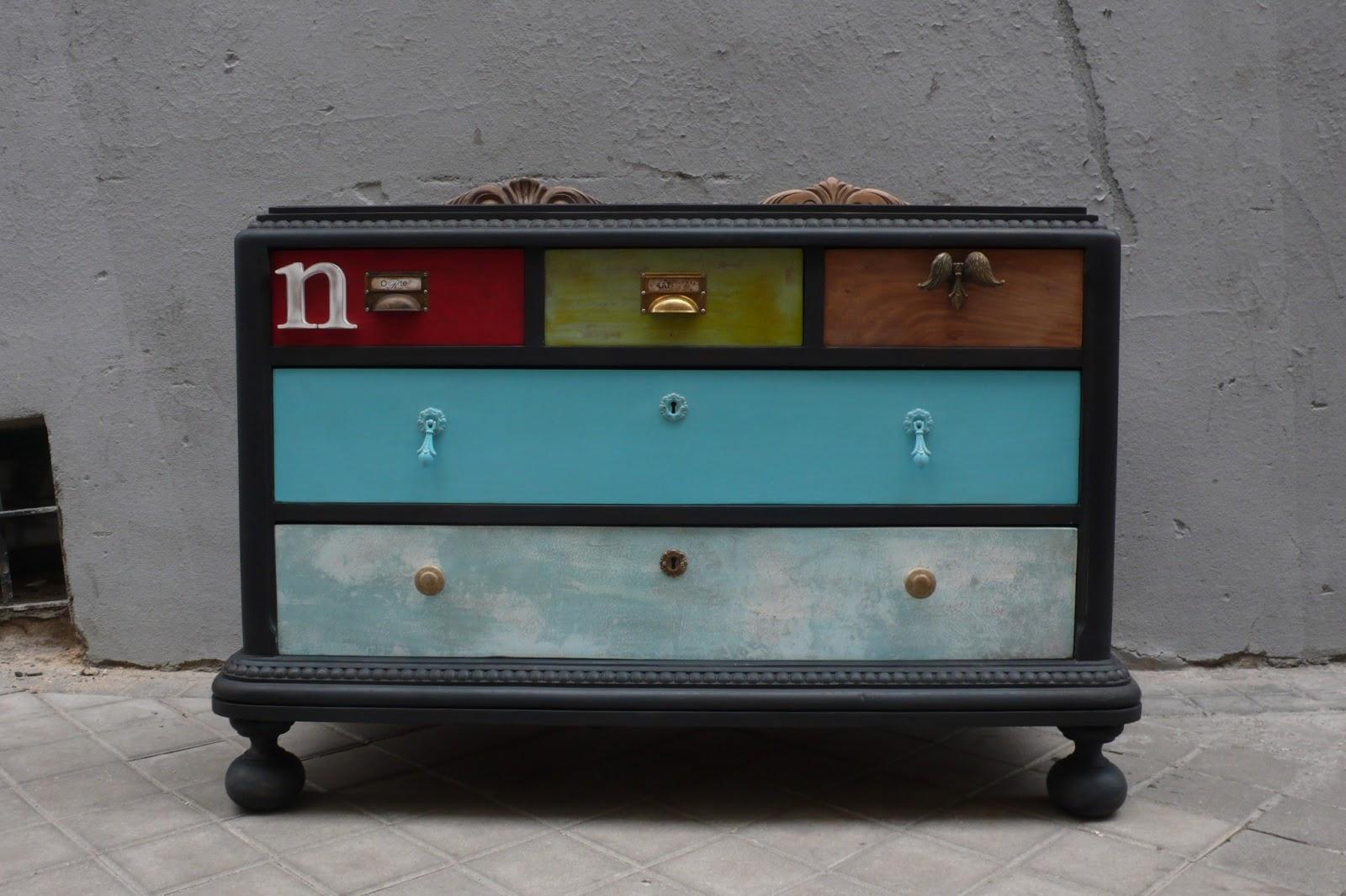 La tapicera reencarnaci n mueble c moda de los a os 20 - Muebles la comoda ...