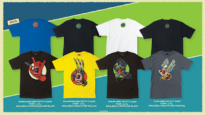 Marvel Comics The Screaming Hand Youth T-Shirt Collection by Santa Cruz