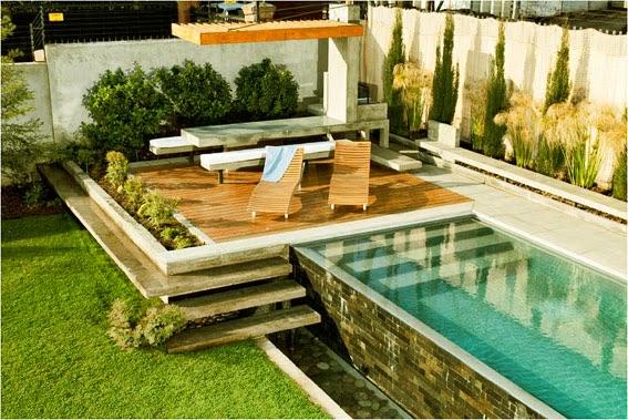Piscina for Piscinas pequenas para terrazas