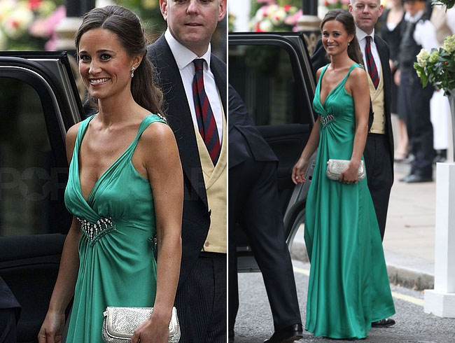 Pippa Middleton Evening Wedding Reception Pippa Middleton 39s dress for the