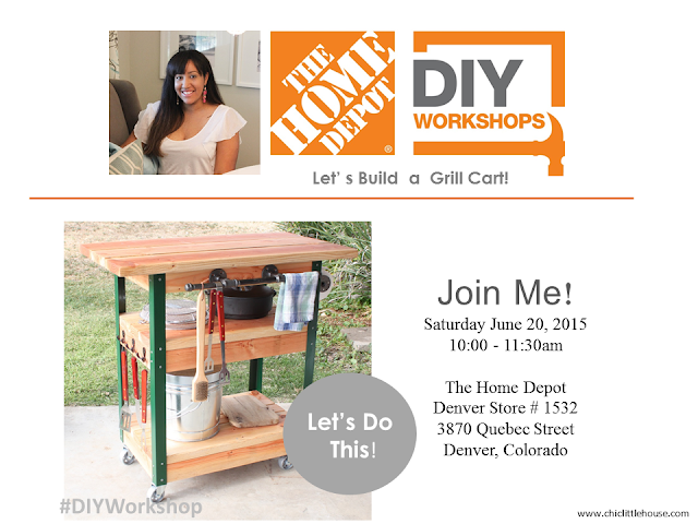 The Home Depot DIY Workshop: BBQ Grilling Cart