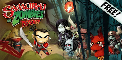 Android Game, Game Gratis, Samurai VS Zombies Defense, 