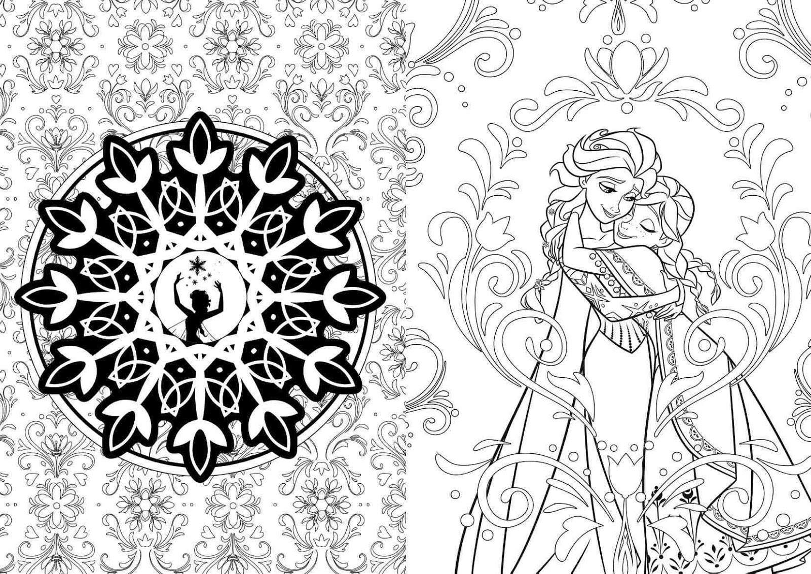 Coloring book disney princess - Wednesday December 9 2015