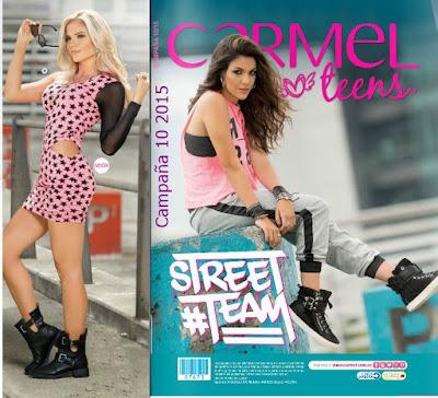 Catalogo Carmel Teens Campaña 10 2015