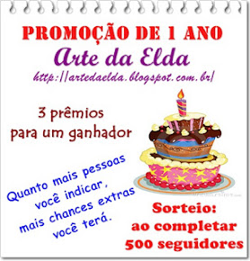 Sorteio no blog da Elda!!!!