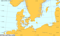<i>Oden</i> Location + Underway Met. and Sea Data (SailWX)