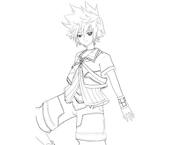 #9 Ventus Coloring Page