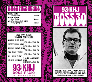 KHJ Boss 30 No. 206 - Johnny Williams