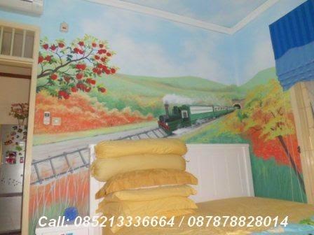 kreasi lukis dinding kamar anak-anak   lukisan tembok
