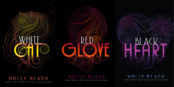 Holly Black White Cat White Cat Red Glove Black
