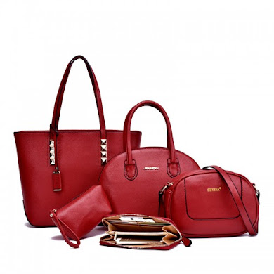MULTI FUNCTION BAG (5 IN 1 SET) - RED