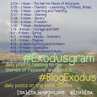 #blogexodus schedule