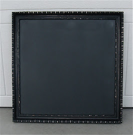 Square Chalkboard (SOLD)