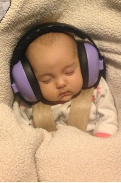 The world's first, foldable, compact hearing protection earmuffs for children.
