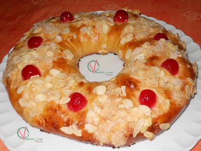 Roscón de Reyes.