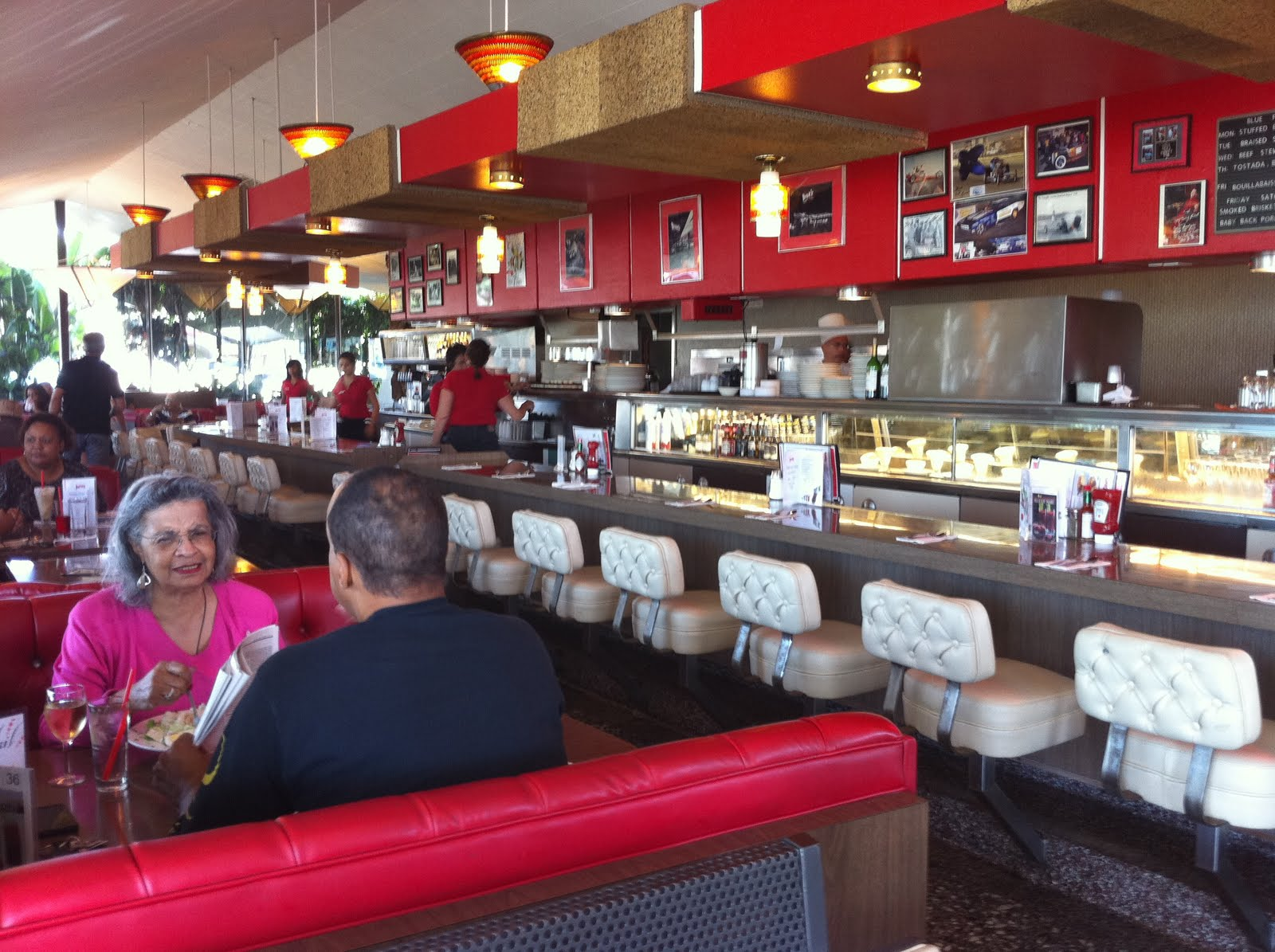 Googie, pulp fiction and bar areas on pinterest