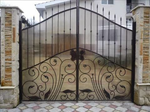 iron gate and steel gate design