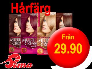 Stort urval av hårfärg från 29.90kr