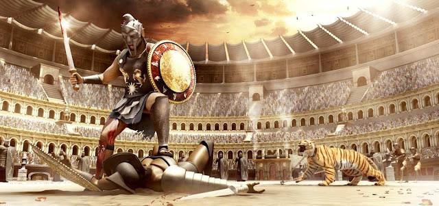 Gladiador, esclavitud, y Derecho romano