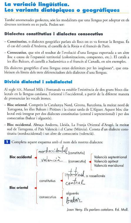 La variació dialectal