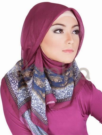 Informasi Model Hijab Kerudung Segi Empat Terbaru - Sedia Jilbab ...
