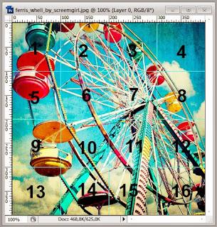 Merubah Foto Menjadi Sebuah Slide Puzzle Dengan Photoshop