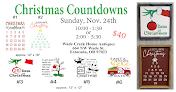 CHRISTMAS COUNTDOWN - NOV 24  $40