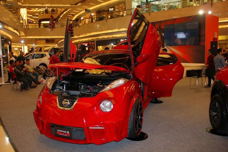 Modifikasi Nissan Juke Extreme