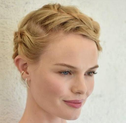 short hair braid Model 2015