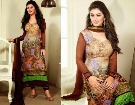 Churi-Pajama Salwar Suits