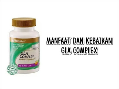 Kebaikan GLA Complex Shaklee Untuk Wanita Dan Lelaki